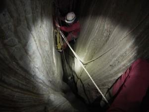 Αρκουδόλακας Ταξιάρχης σπάσαμε το φράγμα των 50μ. 5ο Σεμινάριο Σπηλαιολογίας 2014